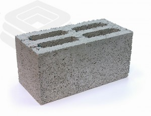 Керамзитобетонный блок 20х20х40