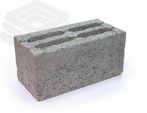 Керамзитобетонный блок с утолщенной матрицей